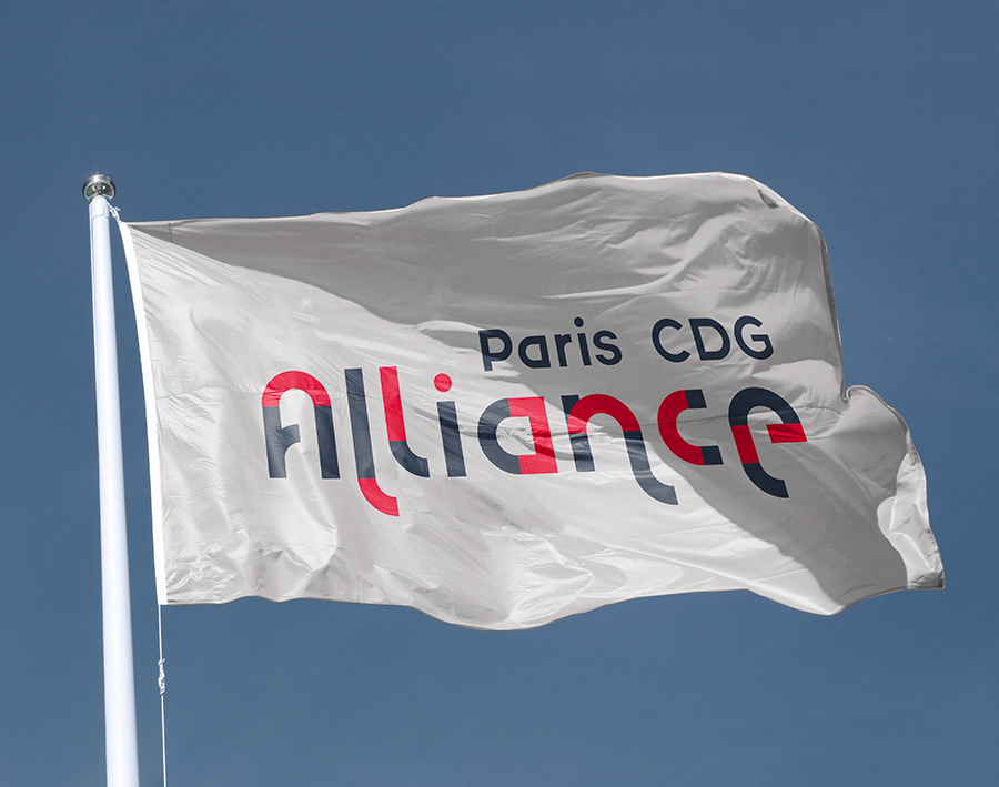 drapeau Paris CDG Alliance
