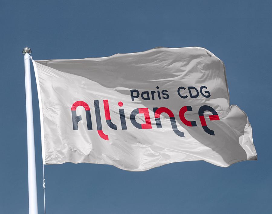 drapeau Paris CDG Alliance